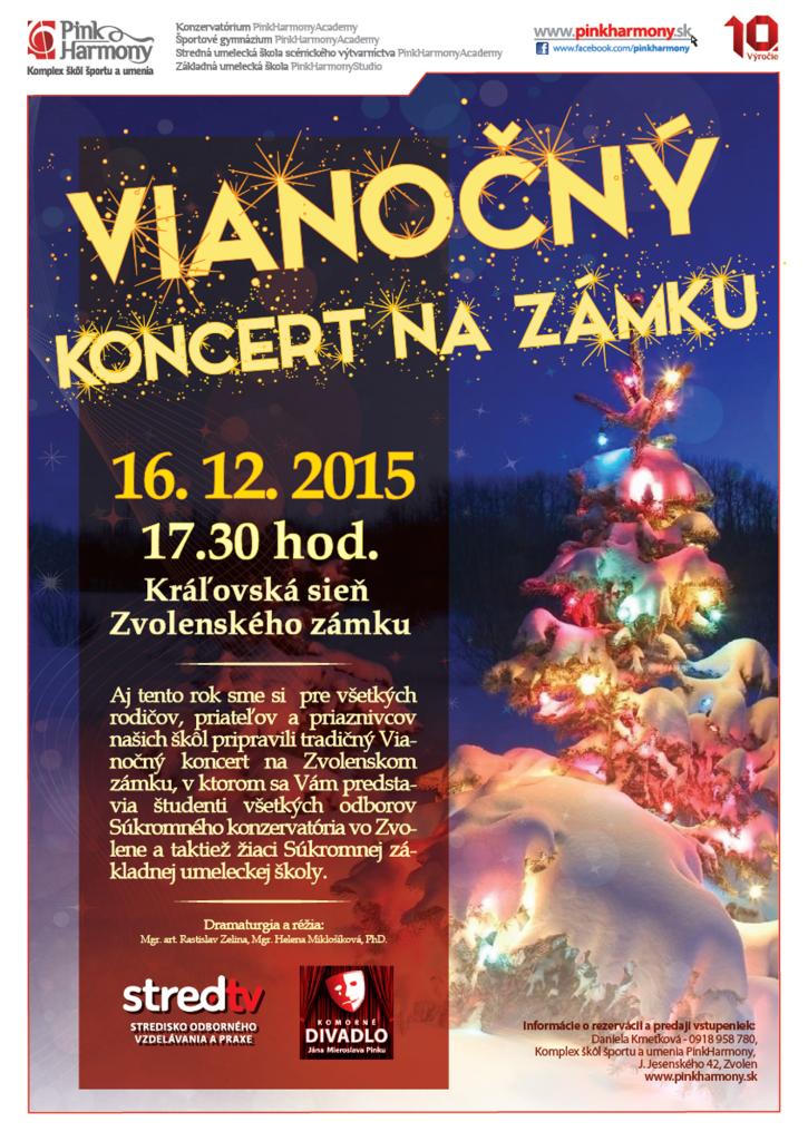 Vianočný koncert na zámku