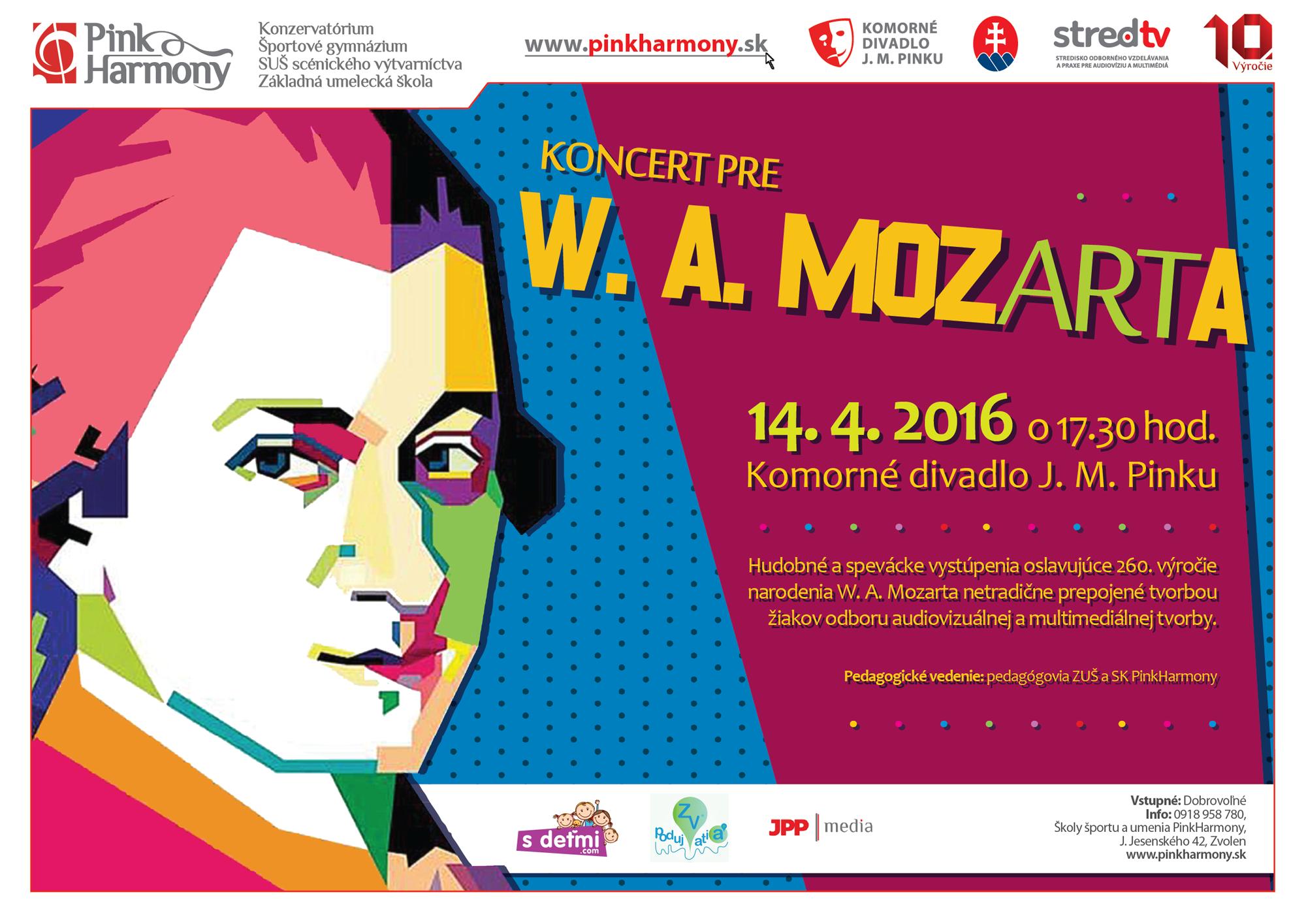 koncert pre mozarta