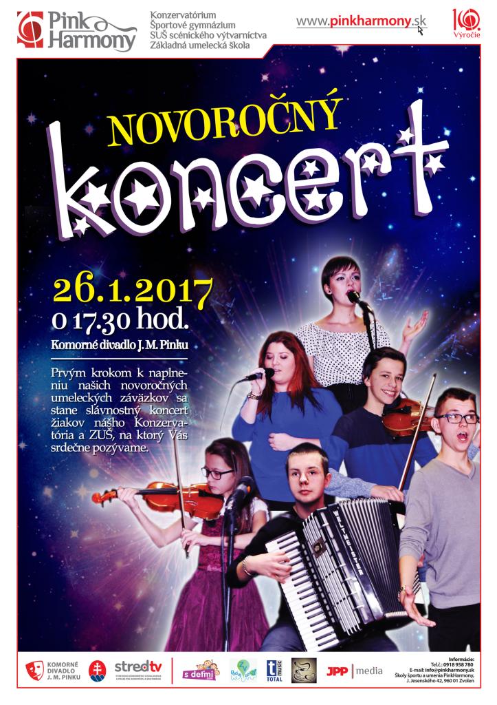 Novoročný koncert na výšku